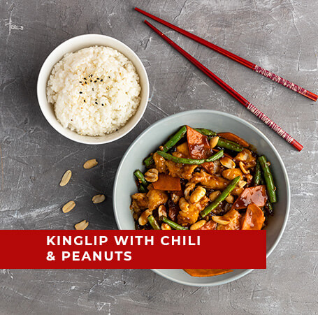 Kingklip with Chili and Peanuts