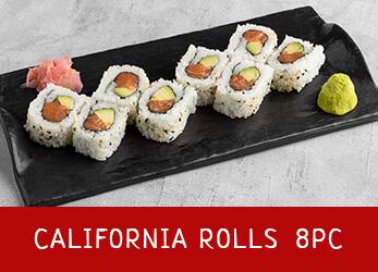 Photo of 8 pieces california rolls