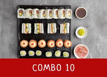 sushi platter combo 10