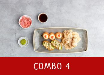 sushi platter combo 4