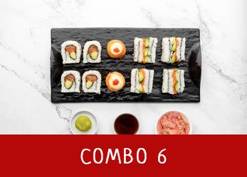 sushi platter combo 6
