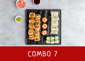 sushi platter combo 7