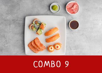 sushi platter combo 9