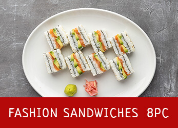 8 pieces of Fashion Sandwiches