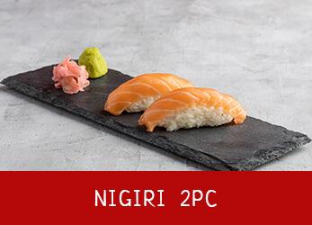 2 pieces of Nigiri